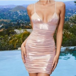 Oh Polly pink dress